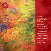 Franck: Symphony in D Minor; Symphonic Variations / Munch