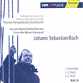 From the Music Lbrary of Bach, Vol 2 / Hengelbrock, et al