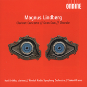 Lindberg: Clarinet Concerto, Gran Duo / Oramo, Kriikku