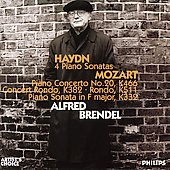 Haydn: 4 Piano Sonatas;  Mozart / Alfred Brendel