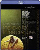 Prokofiev: The Love For Three Oranges / Deneve, Vernhes, Defontaine [Blu-Ray]