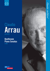Beethoven: Piano Sonatas / Claudio Arrau [2 DVD]