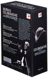 Sergiu Celibidache Conducts Bruckner - Symphonies nos 6-8 [DVD] Bonus: 2 CDs - The Rediscovered Symphony no 4