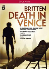 Britten: Death In Venice (live 2013) / John Graham-Hall; Andrew Shore; Tim Mead; Sam Zaldivar. English Nat. Opera [DVD]