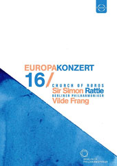 Europakonzert 2016 - Mendelssohn: Violin Concerto; Beethoven: Symphony No. 3 'Eroica'; Grieg: Evening in the Mountains / Vilde Frang, violin; Berlin PO, Simon Rattle [DVD]