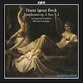 Beck: Symphonies Op 4 no 1-3 / Schneider, Stagione Frankfurt
