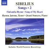 Sibelius: Songs Vol 2 / Hannu Jurmu, Jouni Somero