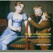 Haydn: Symphonies no 98, 94 & 100 / Arco Baleno