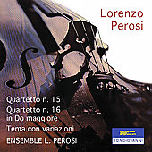 Perosi: String Quartets, etc / Ensemble Lorenzo Perosi