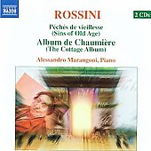 Rossini - Complete Piano Music Vol 1 / Alessandro Marangoni