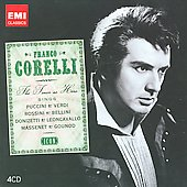 Icon - Franco Corelli - Schubert, Verdi, Puccini, Massenet, Rossini, etc