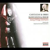Telemann: Cantatas and Odes / Ren&eacute; Jacobs, Berlin Academy