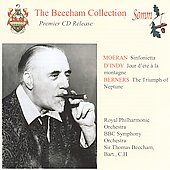 Beecham conducts Berners, Moeran and D'Indy / Royal PO, BBC SO, et al