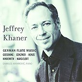 German Flute Music / Jeffrey Khaner
