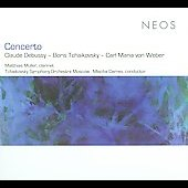 Concerto: Claude Debusy, Boris Tchaikovksy; Carl Maria von Weber