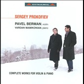 Sergey Prokofiev: Complete Works For Violin & Piano