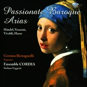 Passionate Baroque Arias / Gemma Bertagnolli, soprano