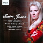 Harp Concertos: Gliere, Debussy, Mozart