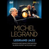 London Big Band Orchestra/Michel Legrand: Legrand Jazz: Live from Salle Pleyel Paris 2009 [DVD]
