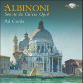 Albinoni: Sonate da Chiesa Op. 4
