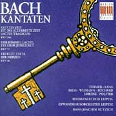 Bach: Kantaten BWV 106, 31, 66 / Hans-Joachim Rotzsch, et al