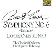 Classics -Beethoven: Symphony no 6, etc /Dohn&#225;nyi, Cleveland