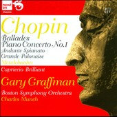 Chopin: Ballades; Mendelssohn: Piano Concerto No. 1 / Gary Graffman, piano