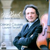 J.S. Bach: 6 Suites de Danses / G&eacute;rard Causs&eacute;, Laurent Terzieff