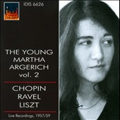 The Young Martha Argerich, Vol. 2 - Chopin, Ravel, Liszt / Live 1957/59