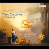 Mozart: Piano Concertos, K. 466 & 467 / Arthur Schoonderwoerd, Cristofori