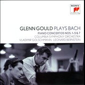 J.S. Bach: Piano Concertos nos 1-5 & 7 / Glenn Gould, piano; Bernstein; Golschmann