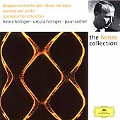 Henze: Double Concerto, Fantasia, Sonata / Sacher, Holliger