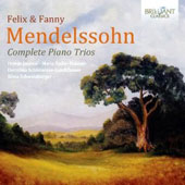 Felix & Fanny Mendelssohn: Complete Piano Trios / Jugovic, Kubizek, Schonewiese-Guschlbauer, Schweinberger