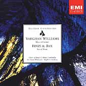 Vaughan Williams, Finzi & Bax - Sacred Music / Cleobury