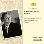 Kempff Plays Mozart, Vol. 2