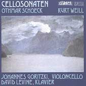 Schoeck: Cello Sonata;  Weill: Sonata for Cello & Piano, etc
