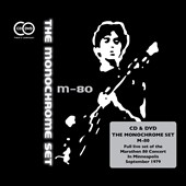 The Monochrome Set: M-80: Live a the Marathon 80 Festival, Minneapolis 1979 [CD/DVD] [Digipak] *