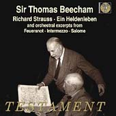 Strauss: Ein Heldenleben, etc / Beecham, Royal PO