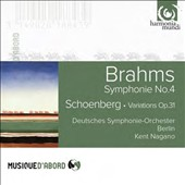 Brahms: Symphony No.4; Schoenberg: Variations / German SO Berlin; Nagano