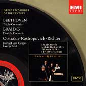 Beethoven: Triple Concerto; Brahms /Richter, Oistrakh, et al