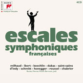 A Century Of French Music: Escales Symphoniques (Symphonic stairs) - Works by Various Composers / Various Artists