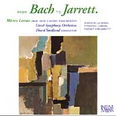 From Bach to Jarrett - Oboe & English Horn Works / Larsson