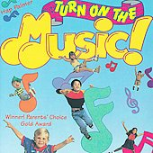 Hap Palmer: Turn on the Music