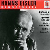 Eisler: Kammermusik /Pommer, Leipzig Chamber Ensemble, et al