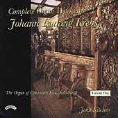 Krebs: Complete Organ Works Vol 1 / John Kitchen