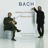 Bach: Sonatas for Violin & Harpsichord / Carmignola, Marcon