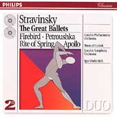 Stravinsky: The Great Ballets / Haitink, Markevitch