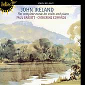 Ireland: Music for Violin and Piano / Barrit