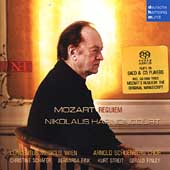 Mozart: Requiem / Harnoncourt, Sch&#228;fer, Fink, et al