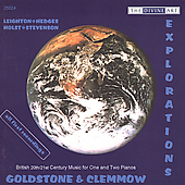 Explorations - 20th/21st Century Music/ Goldstone,Clemnow